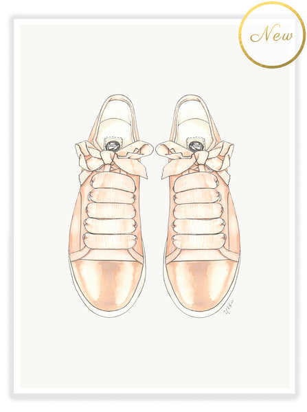 "ART PRINT | ""LANVIN SNEAKERS"""