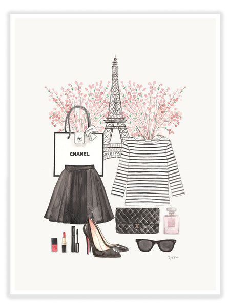 "ART PRINT | ""PARIS IS ALWAYS A GOOD IDEA"""