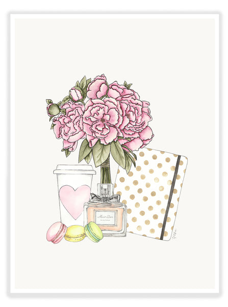 "ART PRINT | ""DAILY BLOOMS"""
