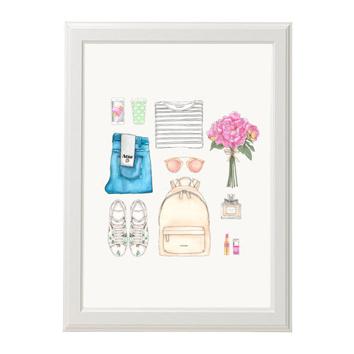 "ART PRINT | ""THE EVERY GIRL"" (Limited Edition)"