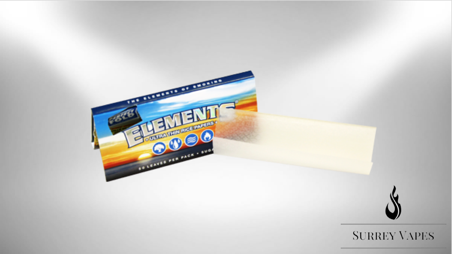 Elements Ultimate Thing Rolling Papers with Magnet