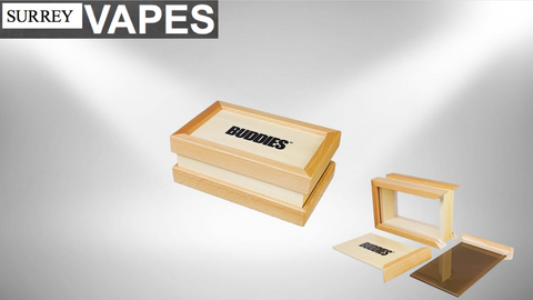 Buddies Bamboo Sifter Box - Surrey Vapes | The Best Vape Store In Surrey, BC