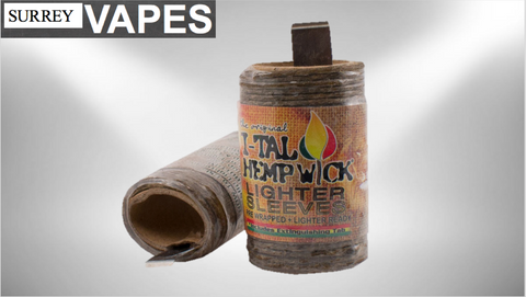 I-Tall Hemp Wick Lighter Sleeve - Surrey Vapes | The Best Vape Store In Surrey, BC
