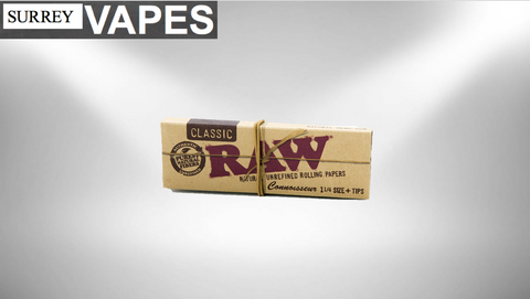 Raw Classic Connoisseur - Surrey Vapes | The Best Vape Store In Surrey, BC