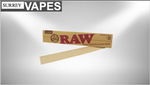"Raw Natural Unrefined Rolling Papers 12"" - Surrey Vapes 