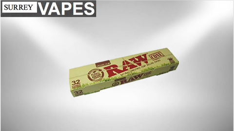 Raw Organic Cone 32/Pack - Surrey Vapes | The Best Vape Store In Surrey, BC