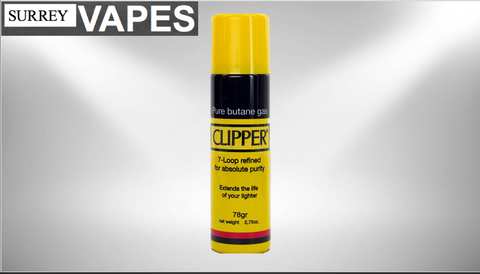 Clipper Butane 140g - Surrey Vapes | The Best Vape Store In Surrey, BC