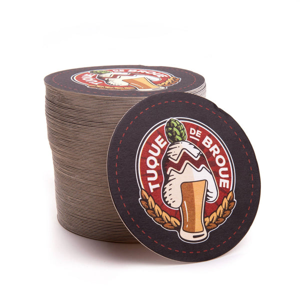 Sous-verres | Drink Coasters - Brasserie Tuque de Broue Brewery Inc. - 2