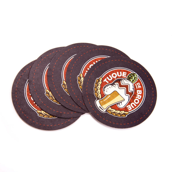 Sous-verres | Drink Coasters - Brasserie Tuque de Broue Brewery Inc. - 1