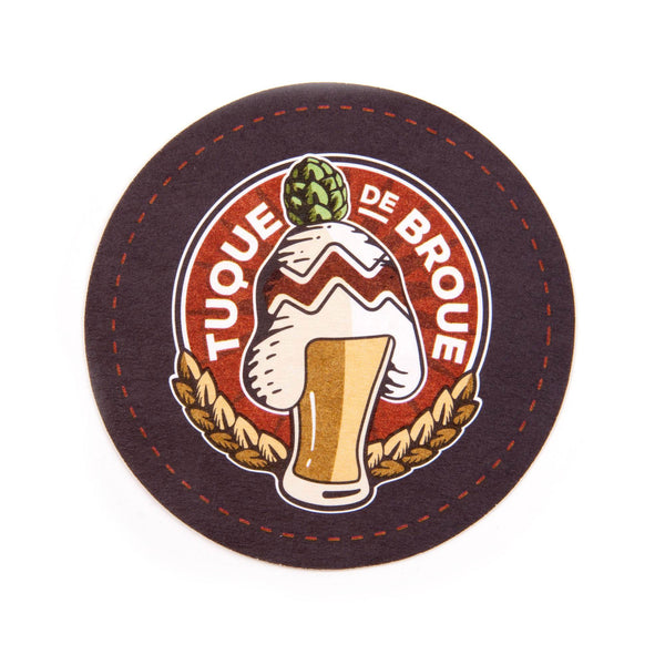 Sous-verres | Drink Coasters - Brasserie Tuque de Broue Brewery Inc. - 3