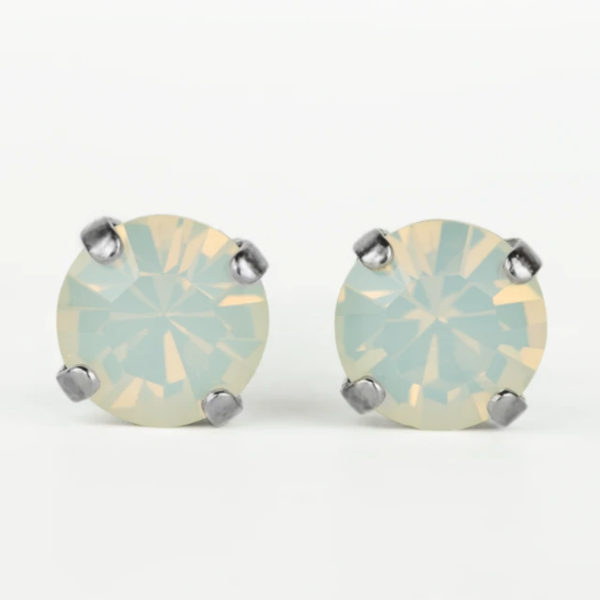 Mariana 1440 Stud Earrings in White Opal E-1440-234
