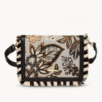 Spartina 449 West Bluff Floral Clutch Crossbody