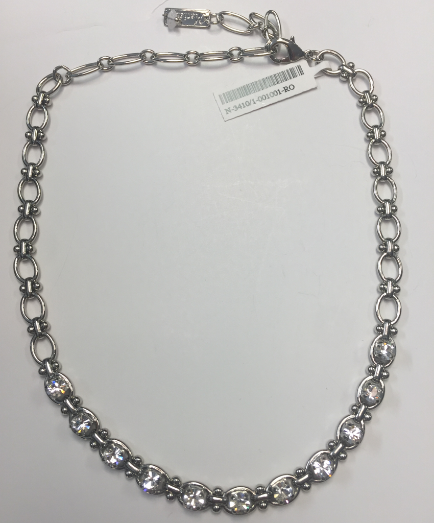 Mariana 3410/1 Necklace Clear On a Clear Day Rhodium