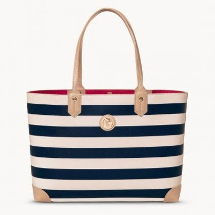 Spartina Navy Stripe Tote Bag