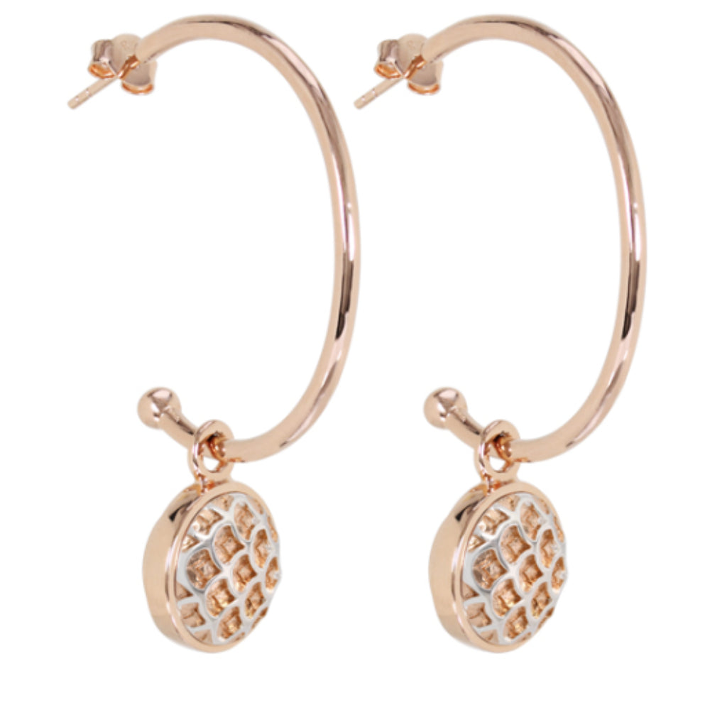 California Dreamin' Earrings Rose Gold Kameleon Legacy