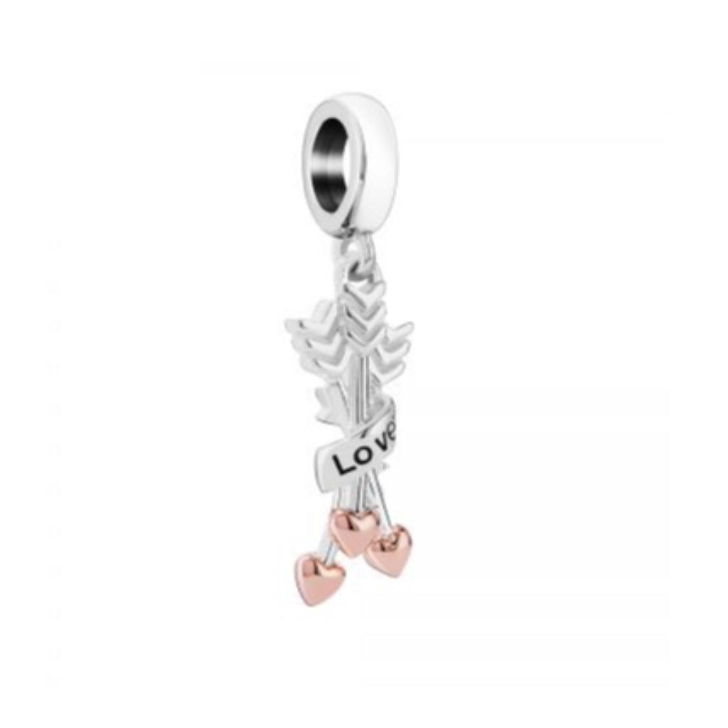 Love Arrows Charm Chamilia