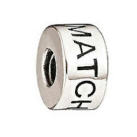 "Chamilia ""Be The Match"" Sterling Silver Bead 2020-0642"