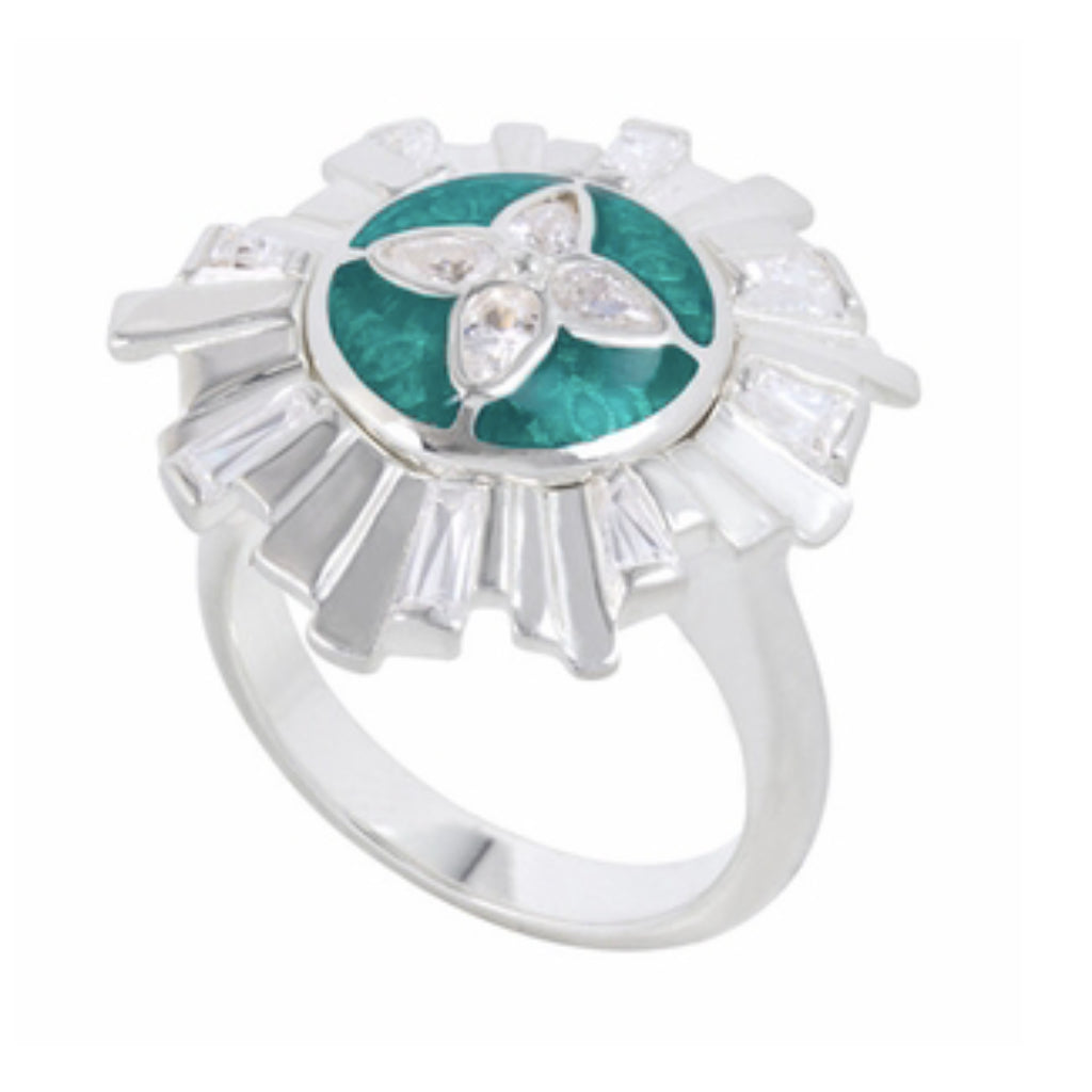 Art Deco Kameleon Legacy Ring