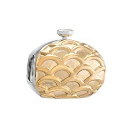 Chamilia Charm - Evening Bag Sterling Silver & Gold Plated