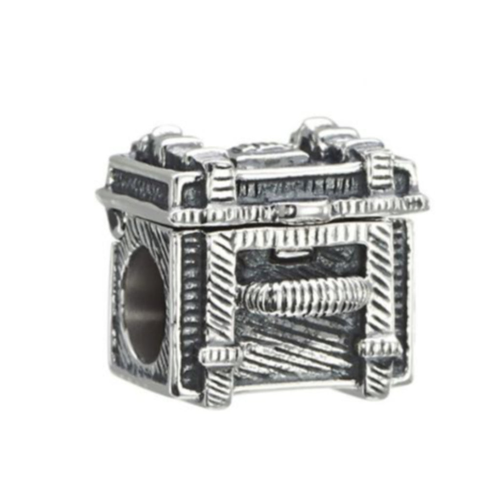 Chamilia - Steamer Trunk Sterling Silver Charm