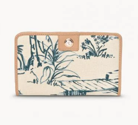 Spartina 449 Snap Wallet Daise Seascape