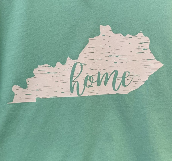 Kentucky home SCRIPT Distressed Tee