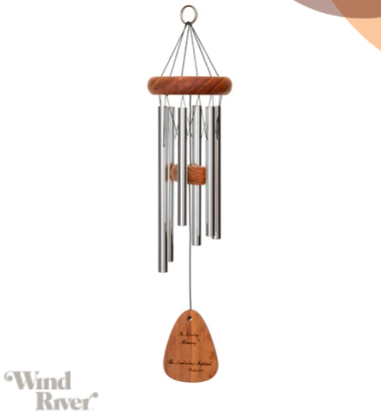 "In Loving Memory®  ""The Lord Bless you...""30-inch Windchime"