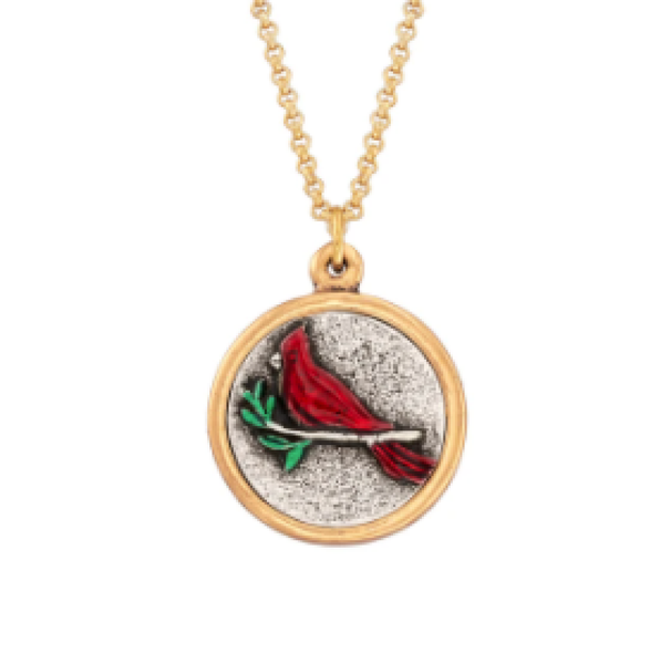 Luca & Danni Red Cardinal Necklace