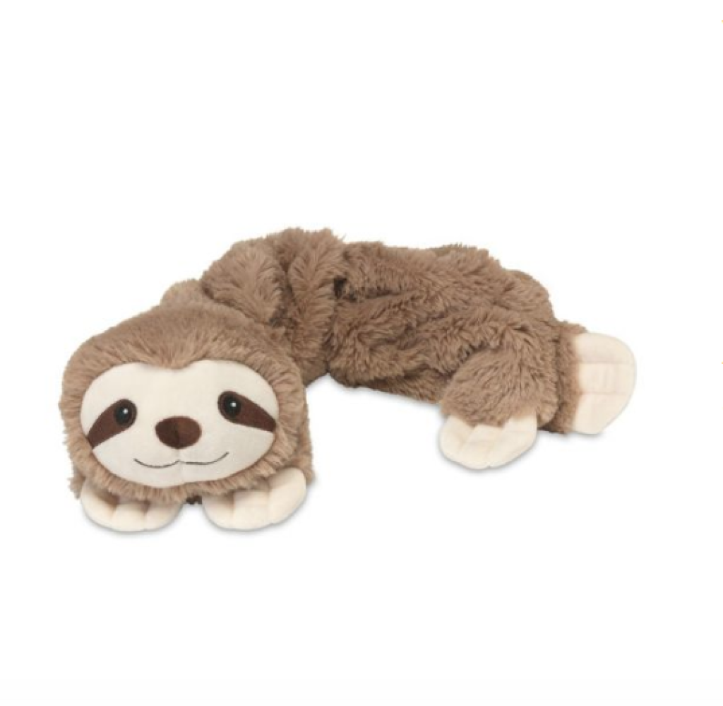 Intelex Warmies Plush Wrap Cozy- Sloth