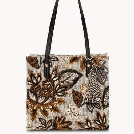 Spartina 449 West Bluff Floral Box Tote