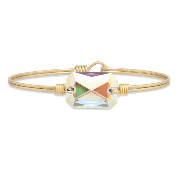 Luca & Danni Dylan Bangle Bracelet in Aurora Borealis