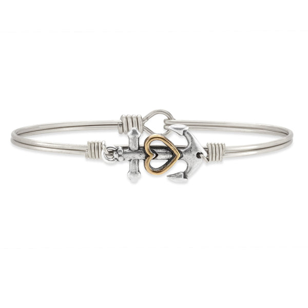 Luca & Danni Anchor Bangle Bracelet