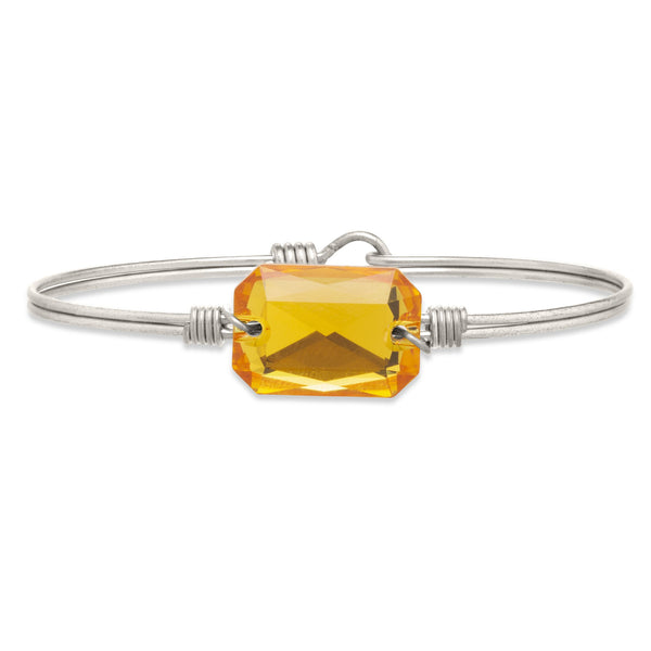 Luca & Danni Dylan Bangle Bracelet in Sunflower