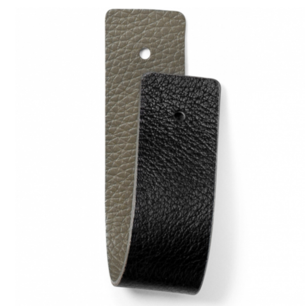 Black and Dune Narrow Strap
