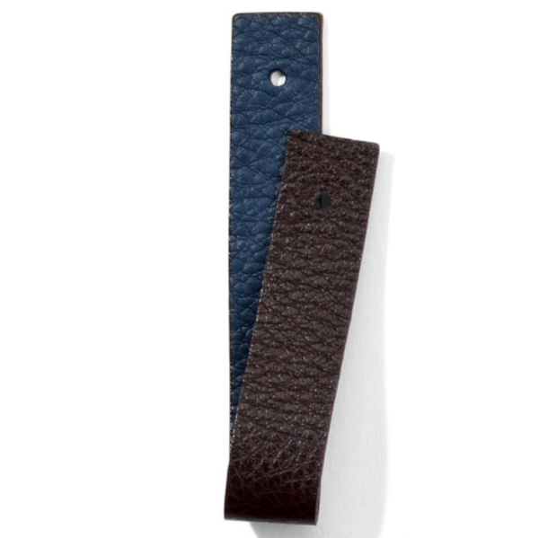 Atlantic Blue and Chocolate Narrow Strap