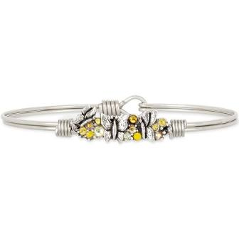 Luca & Danni Butterfly Medley Bangle Bracelet