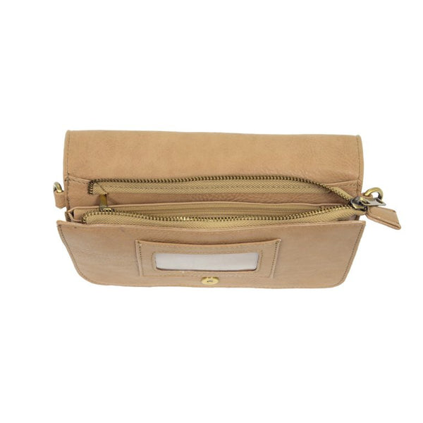 Joy Susan Mia Multi Pocket Crossbody Clutch