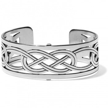 Brighton Christo Interlok Narrow Cuff Bracelet