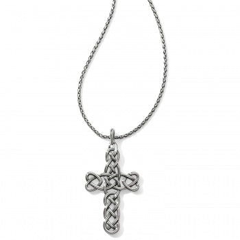 Brighton Interlok Large Cross Convertible Necklace