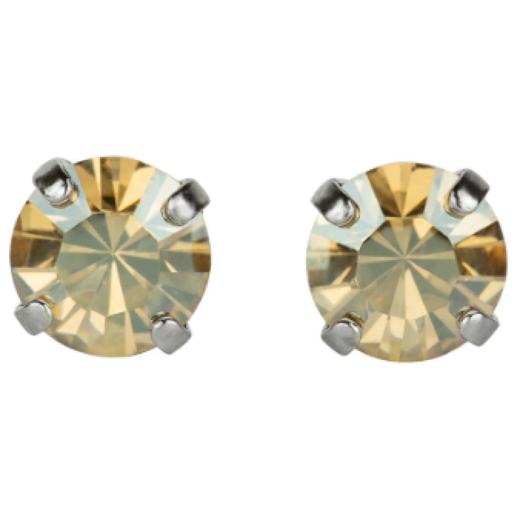 Mariana 1440 Stud Earrings in Golden Shadow Light Champagne E-1440-216-SP2