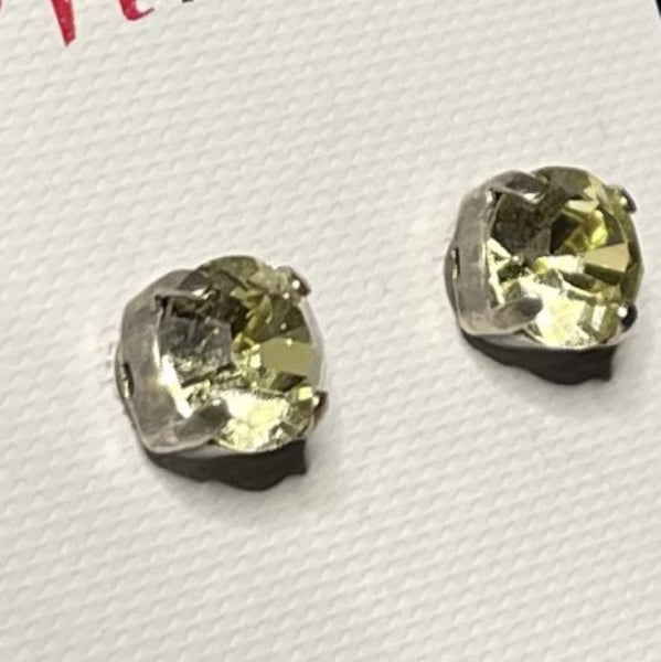 Mariana 1440 Stud Earrings in Dark Yellow E-1440-sp2