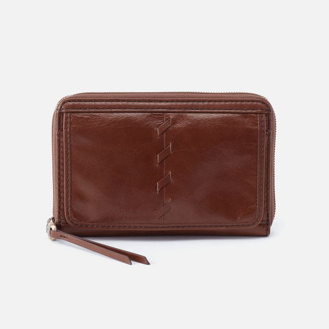 Hobo Elm Compact Leather Wallet