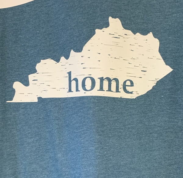 Kentucky Home PRINT Distressed Tee