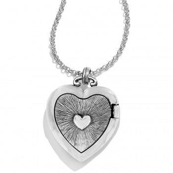 Brighton Illumina Small Heart Locket Necklace