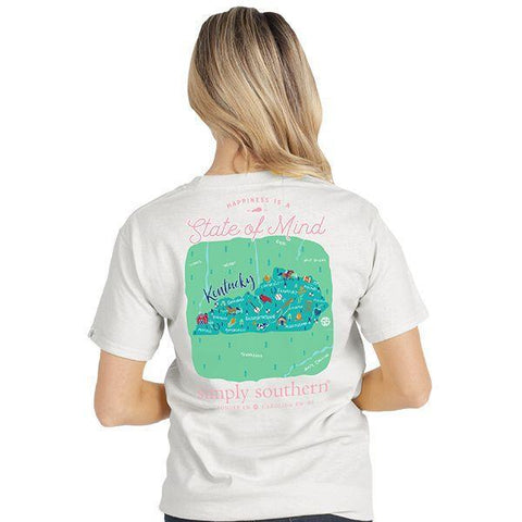Simply Southern State Of Mind KY Short Sleeve T-Shirt