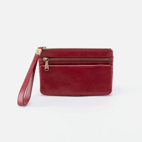 Hobo Roam Leather Clutch Wristlet