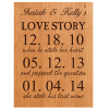 Personalized Cherry Plaque 6x8
