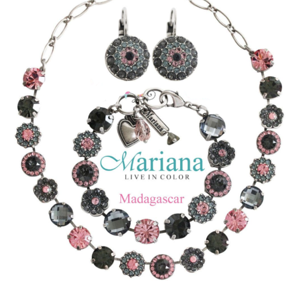 Mariana 3252 Madagascar Necklace Silver Plated