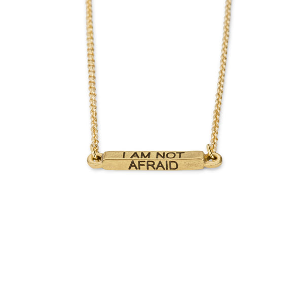 Luca & Danni I Am Not Afraid Necklace