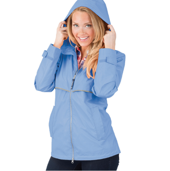 Women's New Englander Rain Jacket INCLUDES Embroidered Monogram